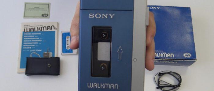 Sony TPS-L2 el primer Walkman de la historia